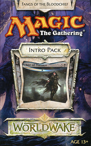 Magic:The Gathering Worldwake Intro Pack  Fangs of the Bloodchief(英語版)写真1