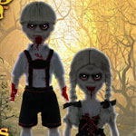 Living Dead Dolls Scary Tales Vol.3: Hansel and Gretel 2体セット